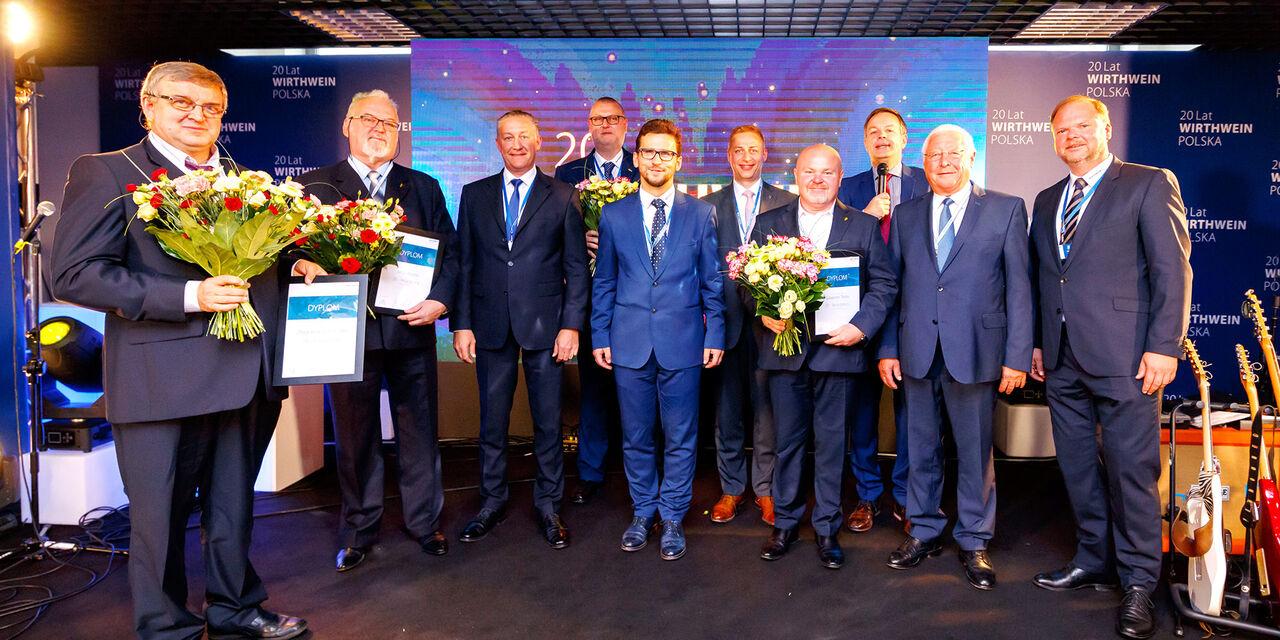 20 Jahre Betriebszugehörigkeit, Wirthwein Polska