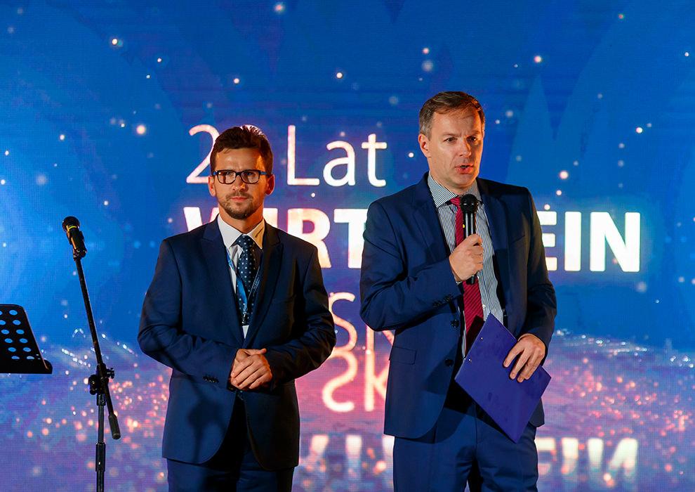 2 Sänger auf der Bühne, Wirthwein Polska